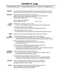 college resume exles for internships exle internship resume college student sle shalomhouse us