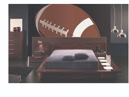d o chambre b mega football wall mural chambres adolescent garçon chambres