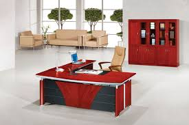 red office desk accessories furniture luxury office desk design ideas for modern home office