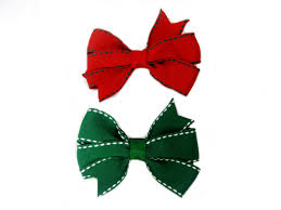 christmas hair bows christmas hairbows