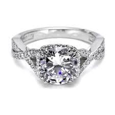 tacori dantela tacori dantela platinum engagement ring 2627rdlg tq diamonds