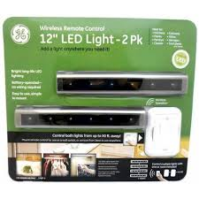 led under cabinet lighting battery ge led light 12 wireless remote control 2pk under counter