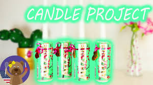 arizona ice tea candle project modern christmas decoration