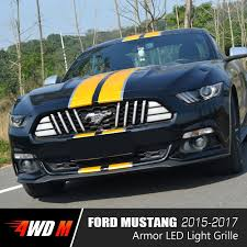 jeep ford 2017 dynamic led grille for ford mustang 2015 2017 4wdmuscle best