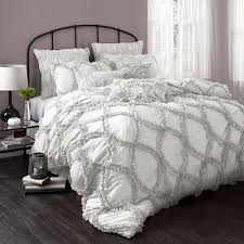 bed linen amazing white and gray bedding sets comforter sets