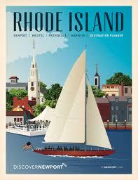 Rhode Island travel net images Discover newport cover illustrations on behance jpg