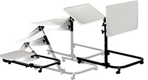 drive medical multi purpose tilt top overbed table pivot tilt top overbed table drive medical therapy gurus