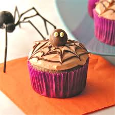 Halloween Spider Cakes by Spider Cupcakes Easybaked