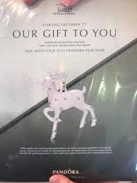 pandora jared exclusive ornament 2017 sneak peek mora