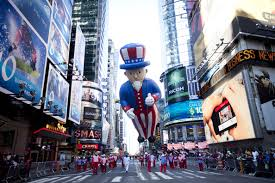 macy s legendary thanksgiving day parade winds through new york