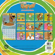 scooby doo scooby doo 2018 wall calendar 9781438853239 calendars com