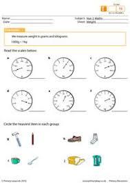 primaryleap co uk weight worksheet