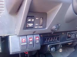 rocker switch panel