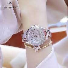 bracelet fashion watches images Bs bee sister women bracelet fashion luxury rhinestone crystal jpg