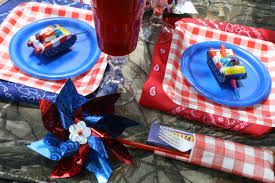 Fourth Of July Tablecloths by Redneck Fourth Of July Picnic Amy Spencer Interiors