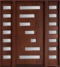 Solid Timber Front Door by Modern Custom Front Entry Doors Custom Wood Doors From Doors For