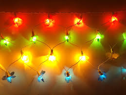 diwali decorative multicolor net flower led rice light for