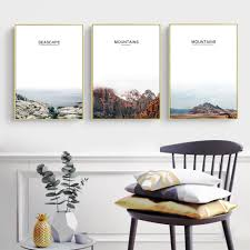 online buy wholesale mountain posters from china mountain posters