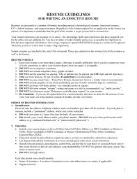 Example Of Federal Government Resume Beginner Resume Template Resume Templates