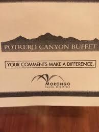 Morongo Casino Buffet Menu by Potrero Canyon Buffet Morongo Casino Picture Of Potrero Canyon