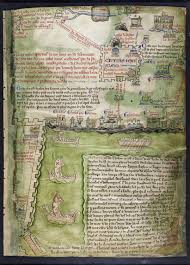 Medieval Maps Medieval Maps Of The Holy Land Medieval Manuscripts Blog