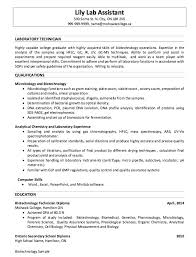 Microbiologist Sample Resume Custom Dissertation Proposal Ghostwriters Website For Child