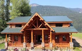 16x20 log cabin meadowlark log homes montana lodge meadowlark log homes