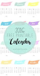 free printable planner calendar 2016 17 best 2016 calendars images on pinterest 2016 calendar