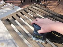 Patio Furniture Refinishers Bonnieprojects Refinishing Wood Patio Furniture