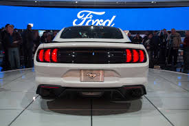 1968 mustang rear end days after unveil of 2018 mustang ford shows convertible