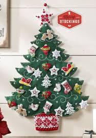 advent calendar nordic christmas tree bucilla advent calendar