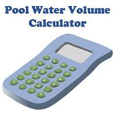 pool water volume calculator in gallons with size charts
