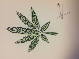 tribal pot leaf 10 pinteres