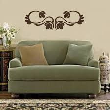 wall decals stickers home decor home furniture diy scroll embellishment borders vinyl decal wall sticker kitchen living bed room