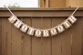 Wedding Photo Booth Props Aliexpress Com Buy Vintage Wedding Letter Banner Bunting Photo