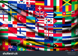 Country Flags Of The World Big Flag Background Made World Country Stock Vector 322329146