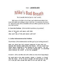 mike u0027s bad breath the scientific method in the by nicole paul tpt