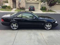 1999 black mercedes purchase used 1999 mercedes sl500 amg black with