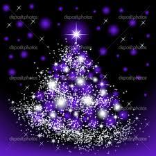 purple christmas tree christmas purple tree stock photo elenstudio 35388069