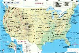 map of usa states including alaska us students from educated families lag in international tests