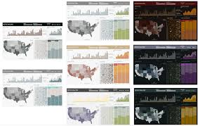 tableau original design pop dashboards playing with color in tableau tableaufit