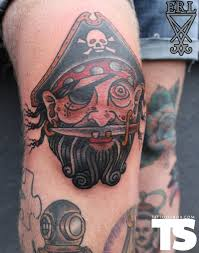 19 knee tattoo designs images and pictures