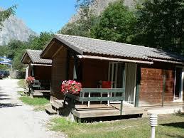 winter campsite in isere les 2 alpes ski resort