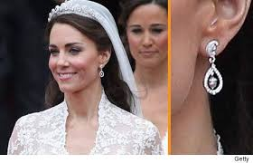 earrings kate middleton kate middleton s wedding earrings recreated toofab