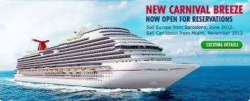 caribbean cruise line cruise law news fire aboard carnival s newest cruise ship carnival breeze why no