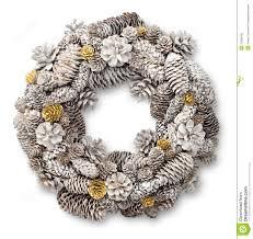 white door wreath stock photography image 27389182