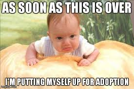 Baby Memes - grumpy baby know your meme