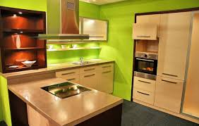 terrific kitchen wall color paint with green wall decor and