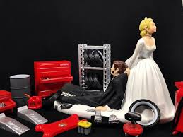 Funny Wedding Cake Toppers Funny Wedding Cake Topper For Mechanics Perfect For Groom U0027s Cake
