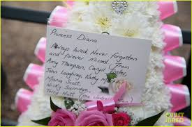 Diana Princess Of Wales Rose by Celebrities Pay Tribute To Princess Diana 20 Years After Her Death
